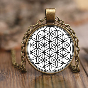 Necklace, Flower of Life