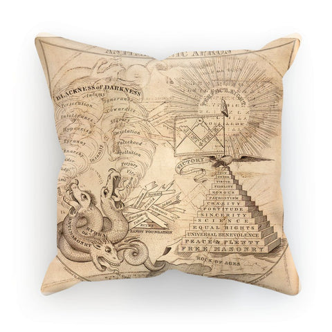 Antimasonic Apron Cushion