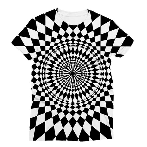 Geometry Design Sublimation T-Shirt