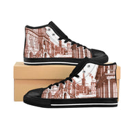 Berlin Vredeman de Vries Old City Perspective Architecture Women's High-top Sneakers