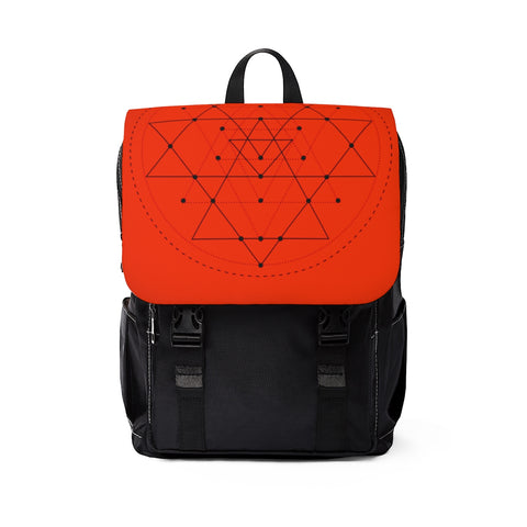 Shoulder Backpack Sri Yantra
