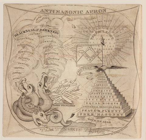 Antimasonic Apron, Download file 2766 x 2650 Pixel for your design project