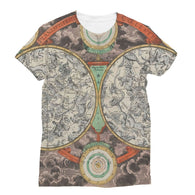 Planisphere Norimbergensis Astrology Map Sublimation T-Shirt