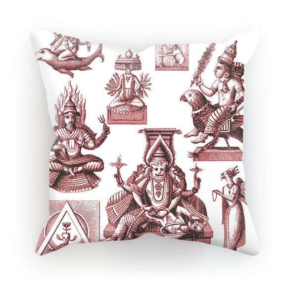 Budhism and Hinduism Gods Cushion Budhism