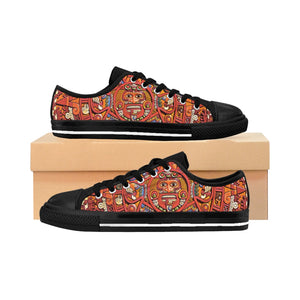 Women's Sneakers Aztec and Maya Calendar