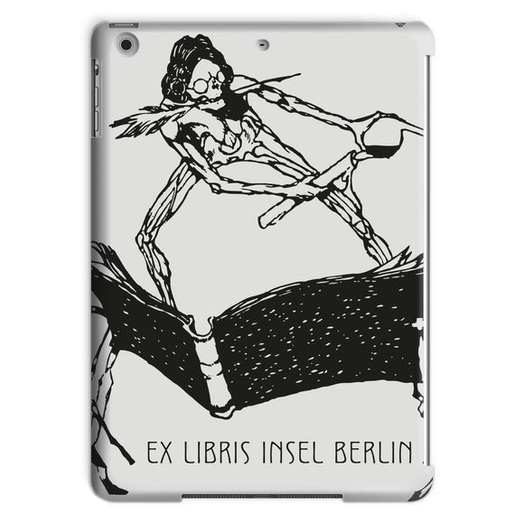 Ex Libris Book and Ink Tablet Case Exlibris Insel Berlin
