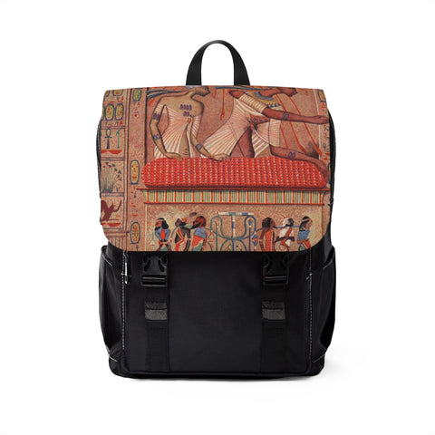 Egyptian Mythology Casual Shoulder Backpack