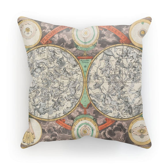 Planisphere Norimbergensis Astrology Map Cushion