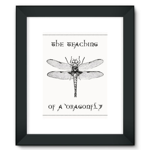 Dragonfly Framed Fine Art Print