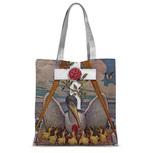 Rosicrucian Pelican Sublimation Tote Bag