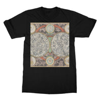 Planisphere Norimbergensis Astrology Map T-Shirt