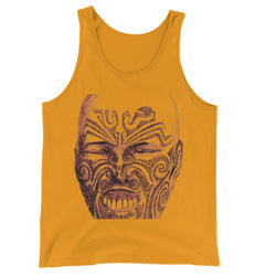 Tattoo Head New Zealand Jersey Tank Top