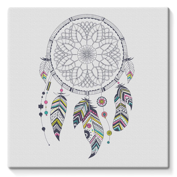 Dreamcatcher Stretched Eco-Canvas