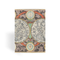 Planisphere Norimbergensis Astrology Map Greeting Card