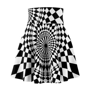 Geometry Design Women's Skater Skirt