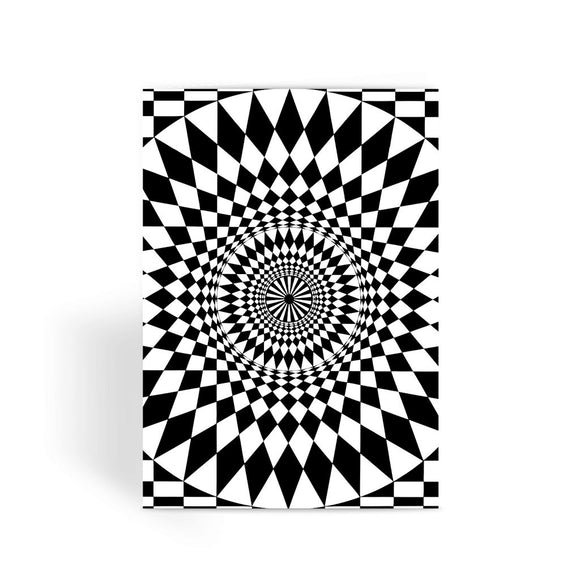 Geometry Design Greeting Card