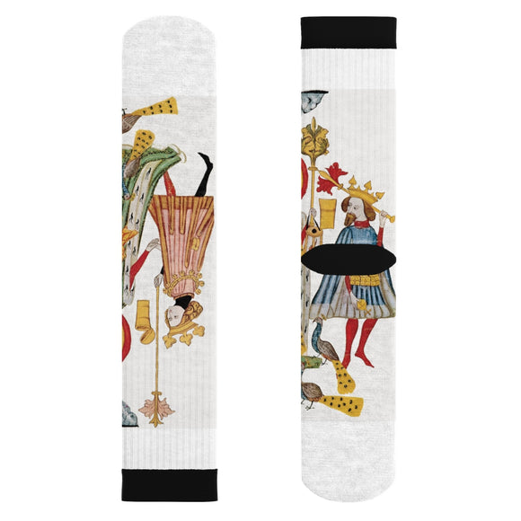 Medieval Sublimation Socks