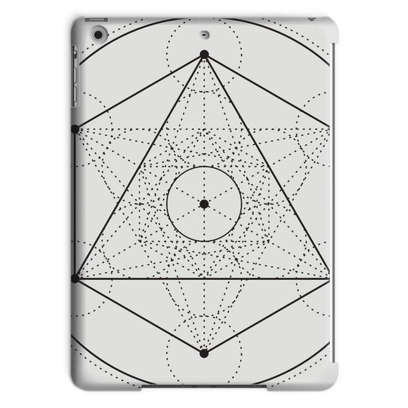 Metatrons Cube Tablet Case Metatrons Cube