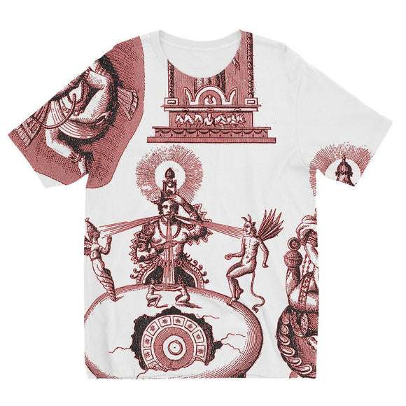 Hinduism and Budhism Gods Kids' Sublimation T-Shirt