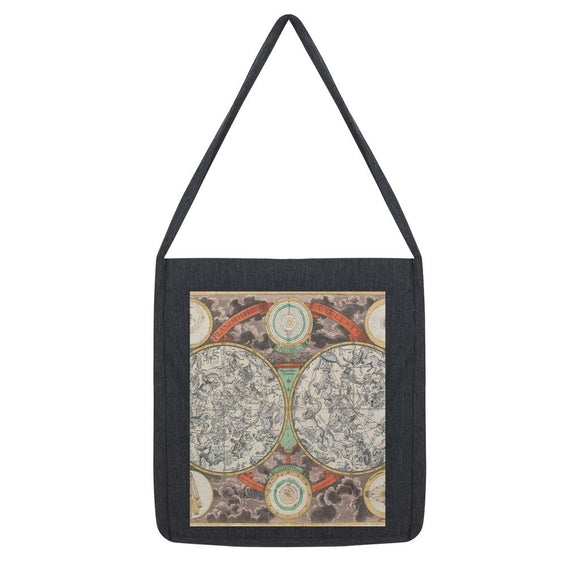 Planisphere Norimbergensis Astrology Map Tote Bag