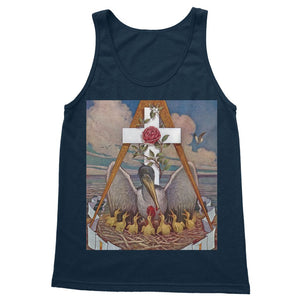 Rosicrucian Pelican Softstyle Tank Top