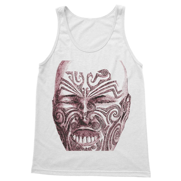 Tattoo Head New Zealand Softstyle Tank Top