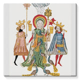 Medieval Mythology Stretched Eco-Canvas