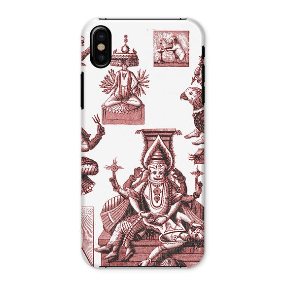 Budhism and Hinduism Gods Phone Case