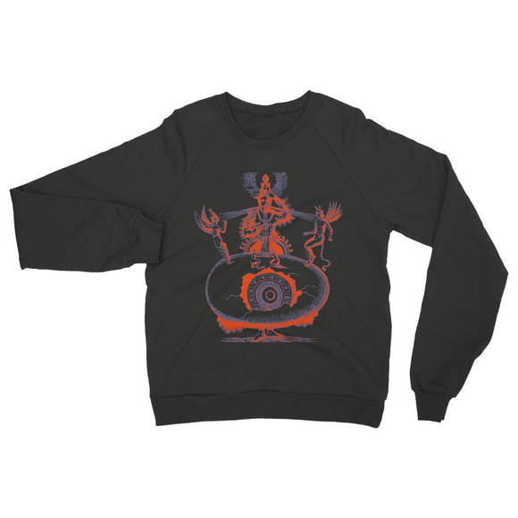 Hindu World Egg Womens Sweatshirt