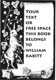 Text stamp hare