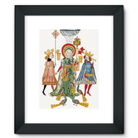 Medieval Mythology Framed Fine Art Print
