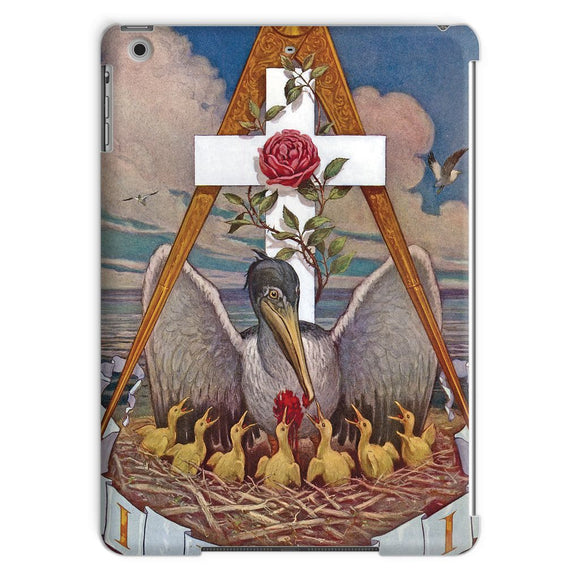 Rosicrucian Pelican iPad Tablet Case