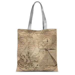 Antimasonic Apron Sublimation Tote Bag