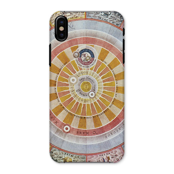 Planisphere Copernica Map Phone Case