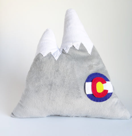 Colorado Mountain Pillow for Kids