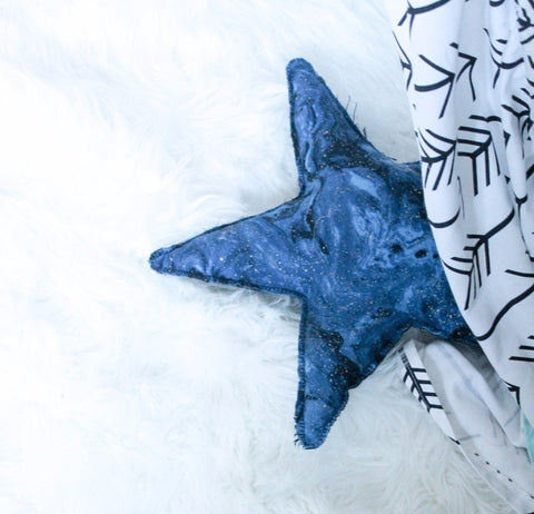 Star Pillow Nursery Decor