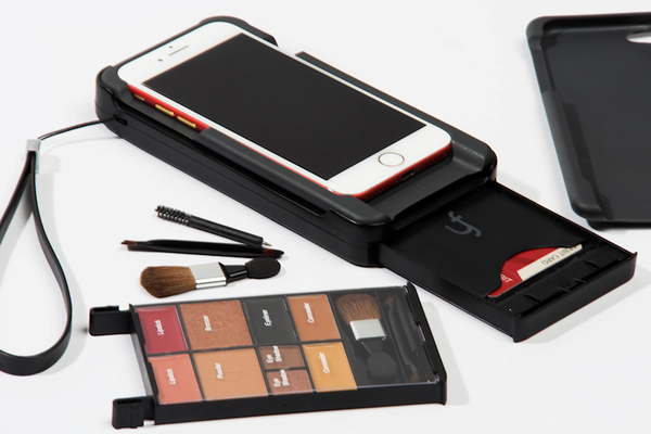 LIGHT iPHONE MAKEUP CASE