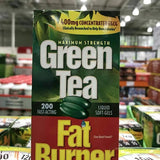 GreenTea 燃脂绿茶液软胶囊200粒 Green Tea Fat Burner, 200 Liquid Soft-Gels