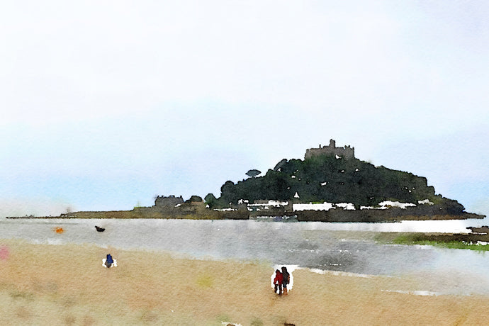 At Micheal's Mount, Cornwall