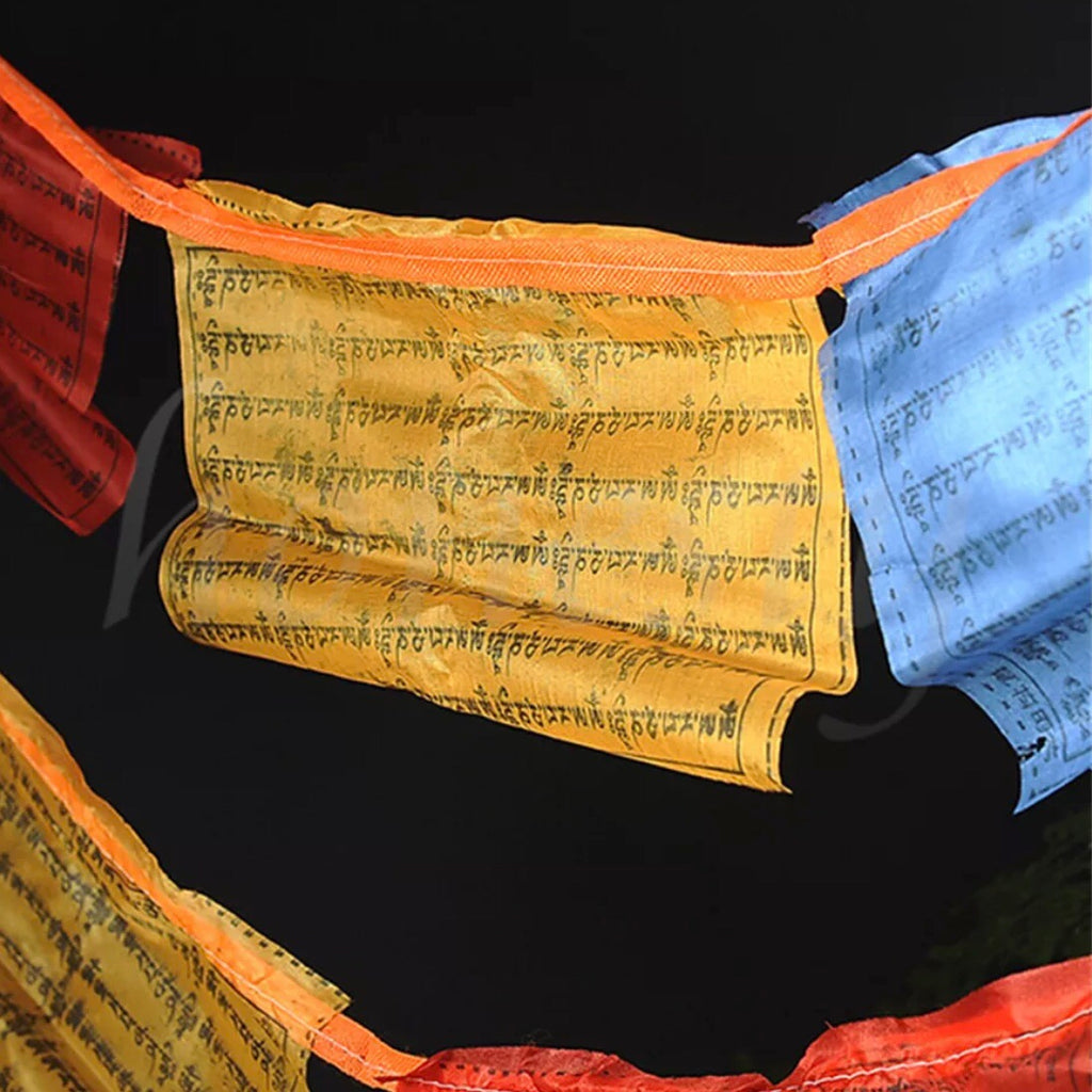 Silk Tibetan Buddhist Prayer Flags 3 metres