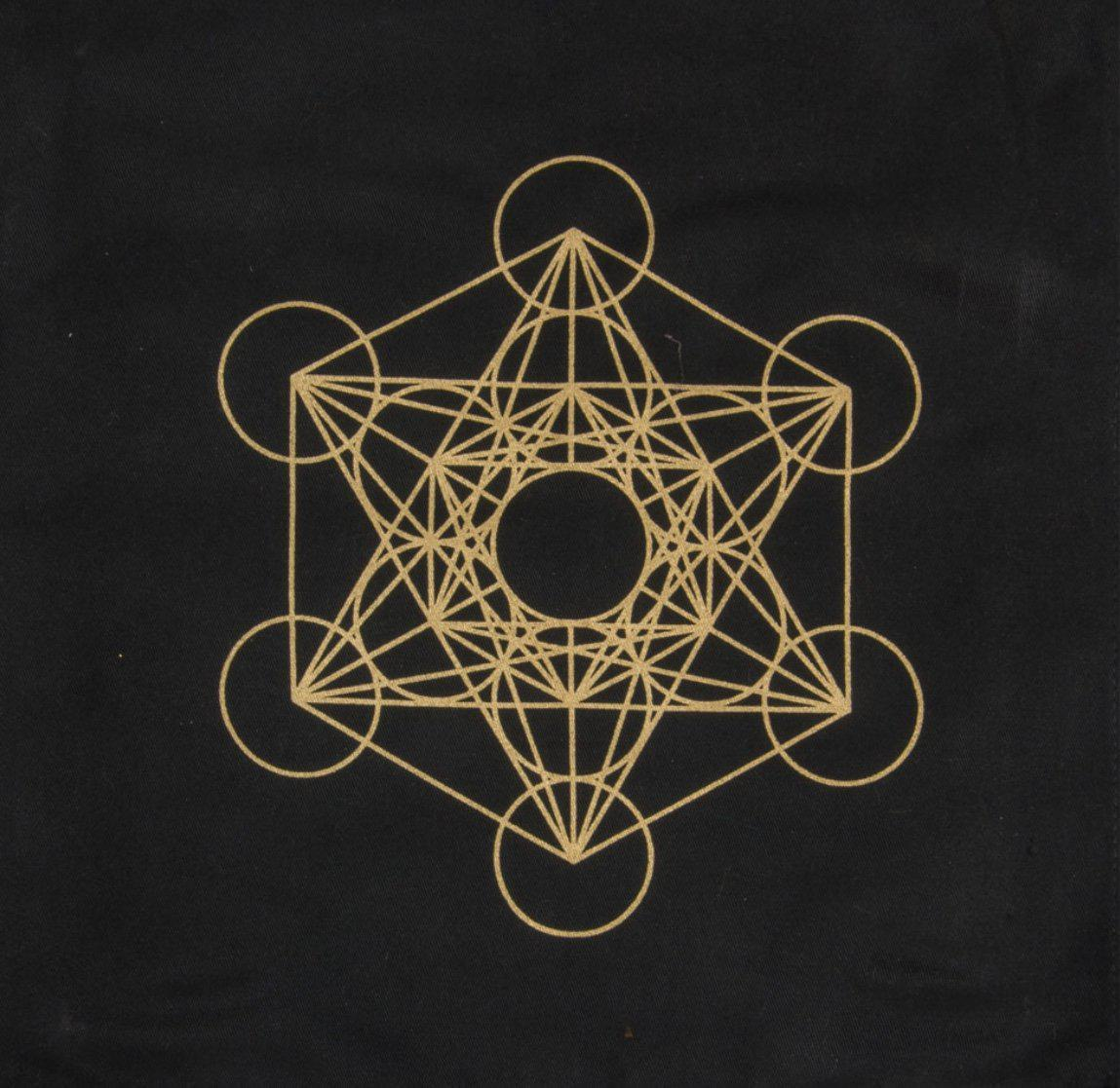 Altar Cloth/ Crystal Grid, altar cloth crystal grid - SugarMuses