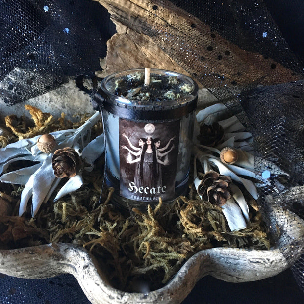Ancient Wisdom Collection - Hecate Candle, Candles - SugarMuses