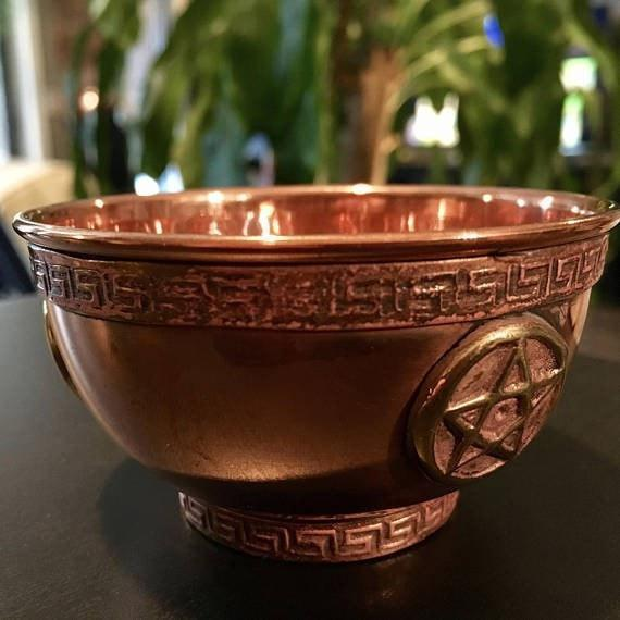 Copper Offering Bowl, Tools - SugarMuses