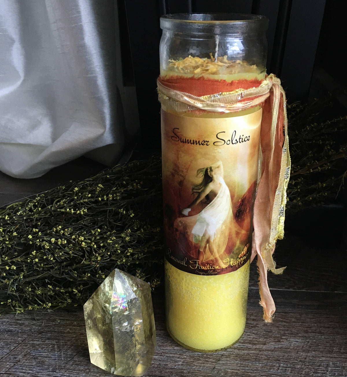 Del Sol - Summer Solstice Candle, Candles - SugarMuses