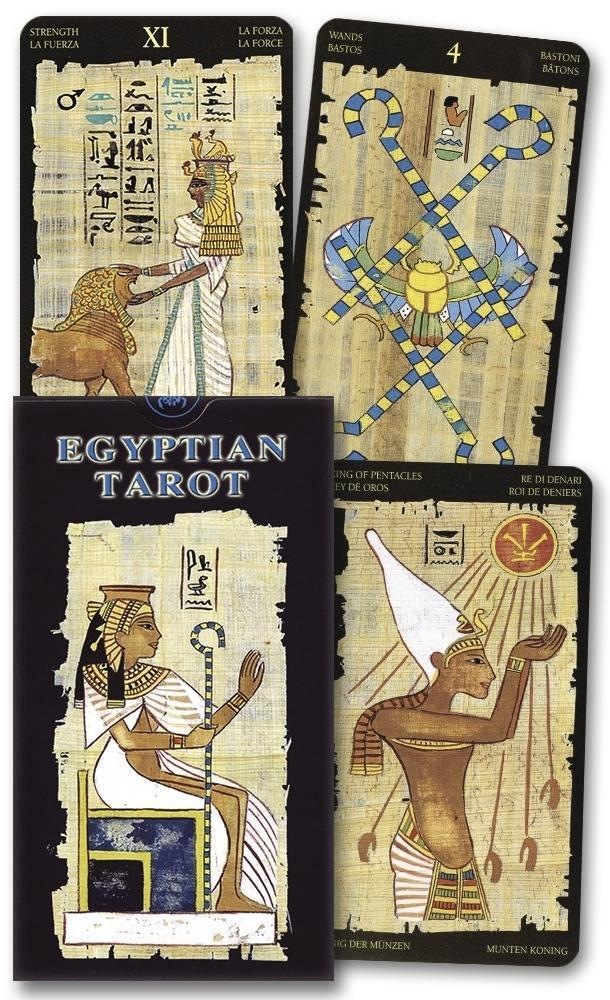 Egyptian Tarot Deck,  - SugarMuses
