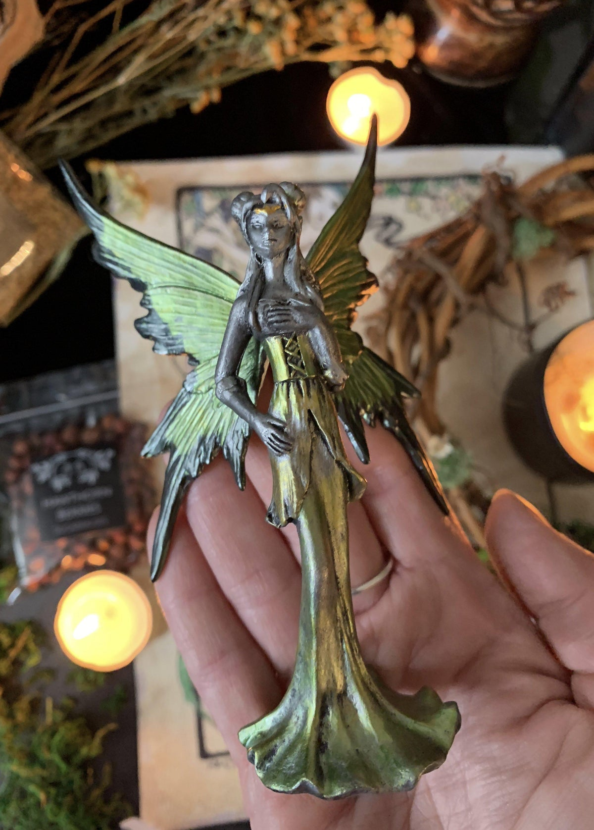 Fae Figurine, fairy figurine - SugarMuses