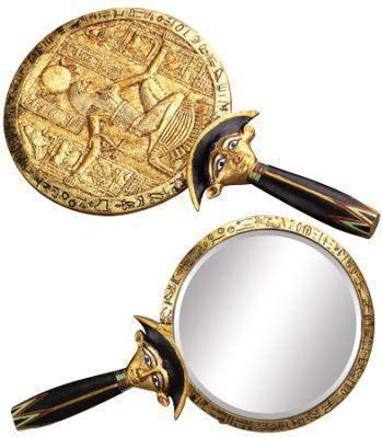 Hathor Egyptian Mirror, mirror - SugarMuses