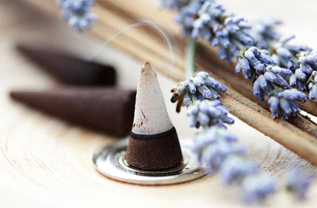 Lavender Incense Cones, incense cones - SugarMuses