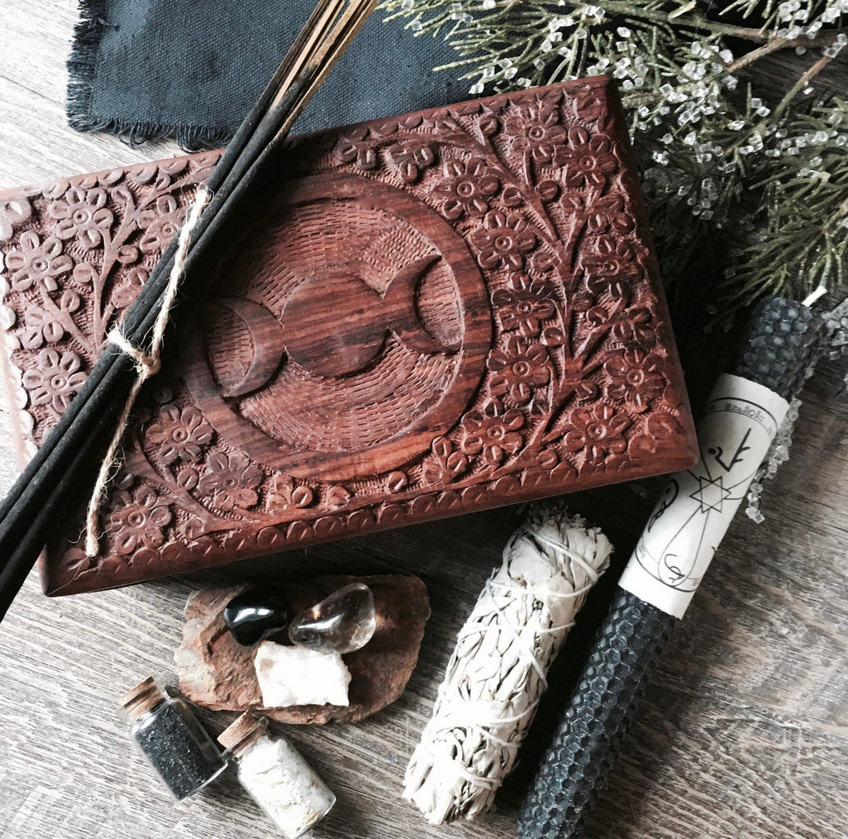 Protection Box Set - For Banishing & Protection, spell kit - SugarMuses