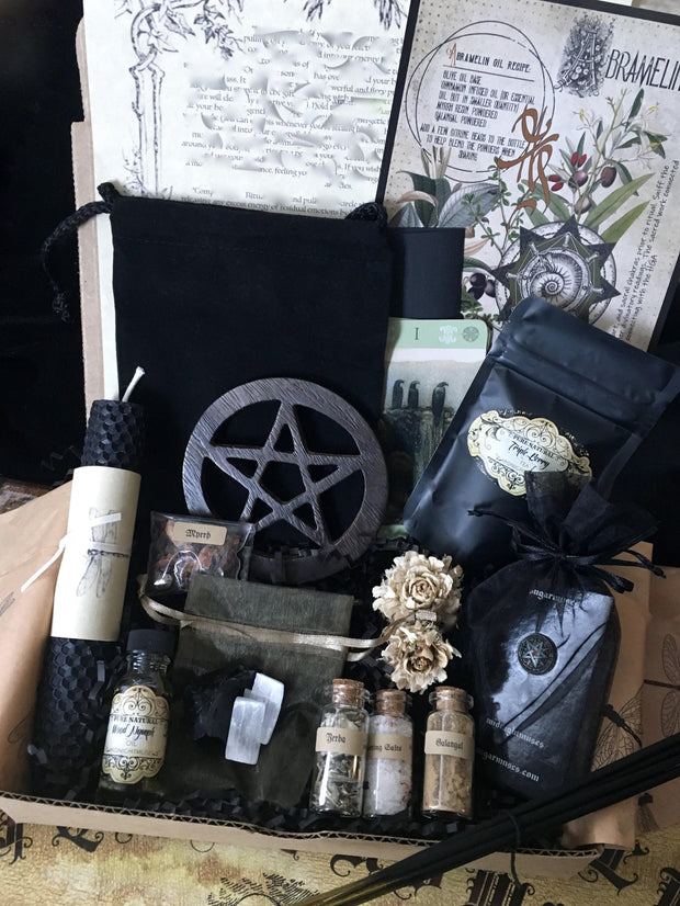 Sacred Space/Cord Cutting Gift Box, witch box - SugarMuses